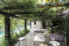 Country French Gardens | Traditional French Country Home