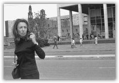 Oriana Fallaci. Black turtleneck.