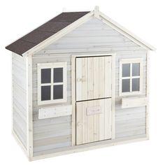 Kid's garden playhouse, grey - ... - Lola