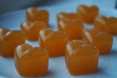 Fra jord til bord: Immunstyrkende sitron- og appelsinsnop! Healthy Sweets, Gelatin, Food And Drink, Keto, Snacks, Treats, Homemade, Baking, Fruit