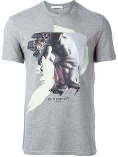 GIVENCHY Abstract Print T-Shirt. #givenchy #cloth #t-shirt