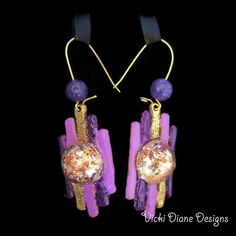 Foiled by Purple Amethysta's Sista  by VickiDianeDesigns on Etsy, $28.00