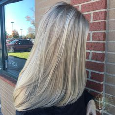 dimensional platinum blonde