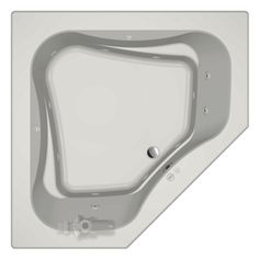 jacuzzi primo person white acrylic corner whirlpool tub common in x in actual in x in x in pdwclhxw