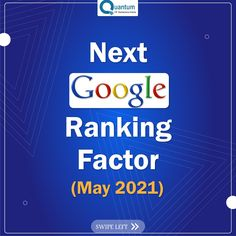 Google announced May 2021 as the official date of the Google page experience update. The update will take expected user experience into consideration for ranking in search results. . . . . . . . . #digitalmarketing #marketing #socialmediamarketing #socialmedia #business #marketingdigital #seo #instagram #onlinemarketing #advertising #digital #entrepreneur #contentmarketing #smallbusiness #design #webdesign #like #photography #graphicdesign #content #google #googleupdate Digital Marketing Services, Online Marketing, Content Marketing, Social Media Marketing, Google Page, User Experience, Consideration, Seo, Innovation