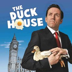 THE DUCK HOUSE is a satirical play written by  Dan Patterson (Mock the Week) and Colin Swash (Have I Got News For You/ Private Eye) about the MP's expenses scandal. The cast is headed-up by funny-man Ben Miller, alongside Nancy Carroll, Debbie Chazen, James Musgrave, Simon Shepherd and Diana Vickers. The show runs at the Vaudeville Theatre from November 2013. Tickets --> http://www.allgigs.co.uk/click/theduckhouse/