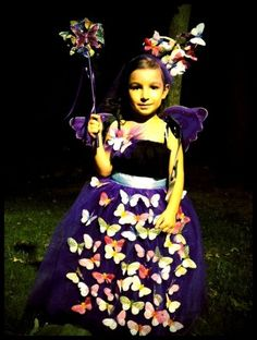 butterfly fairy- Tank top and tulle