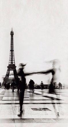 architecture, b&w, black and white, city, classy, dance, eiffel tower, europe, france, gray, love, overcast, paris, romance, sky