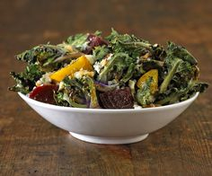 Roasted Kalettes with Beets