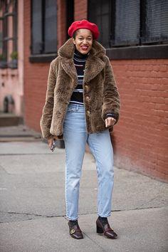 Street Style: New York Fashion Week | Tamu Mcpherson
