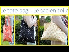 Couture - Le tote bag ! - YouTube