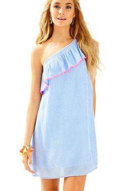 982ca81b7458 Emmeline One Shoulder Dress   168 Frilly Dresses