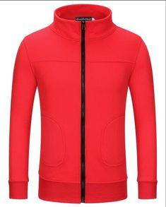 2017 Trend Of Men's New Fashion Korean version Of Pure Color Collar Men's Long-sleeved Sweatshirts Jacket