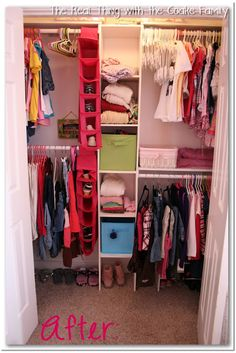 Beau Kids Closet {Organizing Ideas
