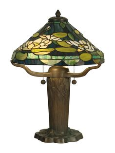 "19.5"" H Table Lamp with Empire Shade"