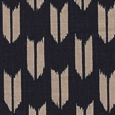 1/2 Yard Arrow Feather Japanese Indigo Printed by QuiltingFoxes, $6.00