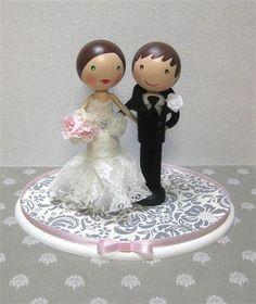 Emily & Kirk's Wedding Cake Topper | Flickr - Photo Sharing!