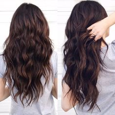 Dark Rich Chocolate Brown Hair Color