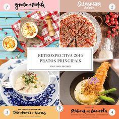 Retrospectiva 2016: Pratos Principais - Vamos Receber
