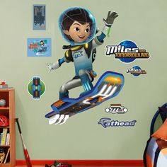 Disney's Miles from Tomorrowland Miles Callisto Wall Decal by Fathead, Multicolor