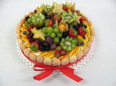 Ovocné dorty Birthday Cake, Food, Birthday Cakes, Essen, Meals, Yemek, Cake Birthday, Eten