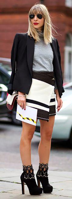 Fall Ready To Wear 2015 Street Style   Harper's Bazaar   #justjune