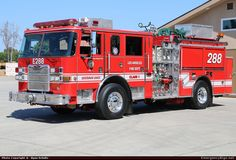 Pierce Arrow XT Pumper Los Angeles Fire Department Emergency Apparatus Fire Truck Photo