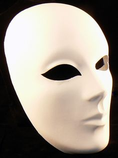 How To Decorate A Mask Mesmerizing Blank Mask To Decorate  Luna  Wigs  Pinterest  Blank Mask Design Inspiration