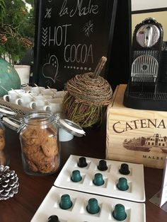 American Trade Hotel ATH in Casco Antiguo , Panamá City Panama Hot Cocoa Station. Charming and delicious! Attention to details!