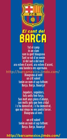 El cant del Barça - barcamexico