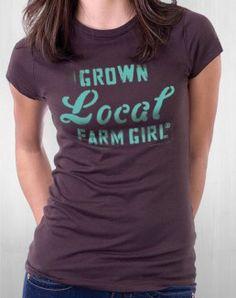 FARM_GIRL Example T_Shirt