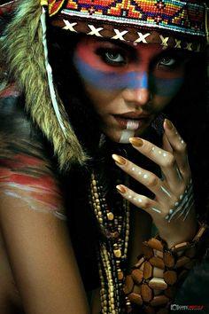 Greg neo photo American Indian Girl, Native American Girls, Native American Pictures, Native American Beauty, American Indians, Native American Face Paint, Native American Tattoos, Native American Paintings, Indian Women Tattoo