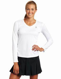 $9.96 - $34.95 nice K-SWISS Women's Accomplish Longsleeve Shirt