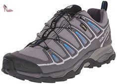 Salomon X Ultra 2 Gtx, Chaussures de randonnée homme, Gris (Detroit/autobahn/methyl Blue), 46 EU - Chaussures salomon (*Partner-Link)
