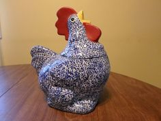 Hen Cookie Jar by Doranne of California