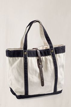 Canvas 1963 Washed Tote    Headed for a weekend at the lake or just off to a quick overnight getaway this tote is sure to hold all of your amazing summer styles so you can look fabulous no matter where you are off to this summer.    #landsendcanvas