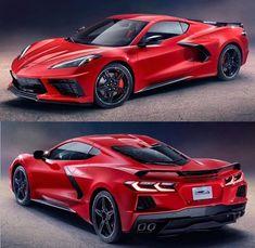 The new mid engined corvette stingray ! by Car Content Ferrari, Bugatti Cars, Chevrolet Corvette Stingray, Chevrolet Camaro, Cool Sports Cars, Sport Cars, R35 Gtr, Top Luxury Cars, Golf R