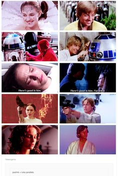 Padme & Luke parallels