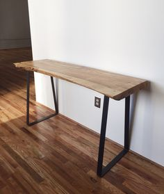 Live Edge Table by Jshafferwoodworks on Etsy https://www.etsy.com/listing/473779903/live-edge-table