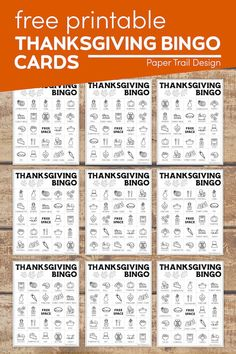 Use these Thanksgiving bingo printable cards for a fun family activity for a Thanksgiving get together. Thanksgiving Bingo, Thanksgiving Coloring Pages, Thanksgiving Activities For Kids, Holiday Activities, Bingo Cards, Printable Cards, Free Printables, Autumn Ideas, Teacher Worksheets