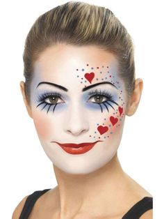 set maquillage clown mechant - Maquillage Halloween Le Deguisement.com