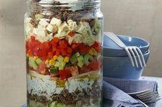 Uschis griechischer Schichtsalat (Rezept mit Bild)   Chefkoch.de