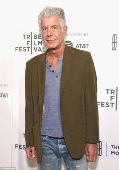 Anthony Bourdain can't travel without a credit card knife #dailymail