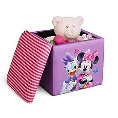 Minnie Mouse Storage Ottoman