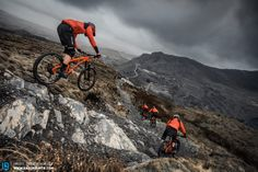 Antur Stiniog in North Wales offers the perfect terrain for the G-150 bikes