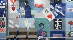 Lovell Friedman |Mosaic at  Mitchells Plain Hospital