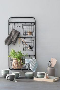 Elegant storage unit fit for kitchen and creative nook. Storage unit, price per item DKK 216,00 / ISK 5688 / SEK 298,00 / NOK 309,00 / EUR 30,29 / GBP 28,68