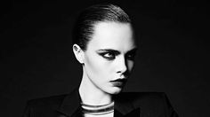 Cara Delevingne is the Face of Saint Laurent's 'La Collection de Paris' Campaign. The model showcases what may or may not be Hedi Slimane's last collection for the French fashion house.
