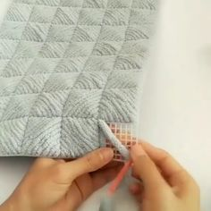 ― Журнал о рукоделии✂( 「❤️ Идея в копилочку 😉 Как вам? Hand Embroidery Flowers, Hand Embroidery Patterns, Beaded Embroidery, Crochet Patterns, Diy Crafts Crochet, Diy Home Crafts, Book Crafts, Crazy Quilting, Braided Rag Rugs