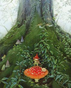 fiddler gnome